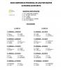 Calendario Liga Provincial Alevin